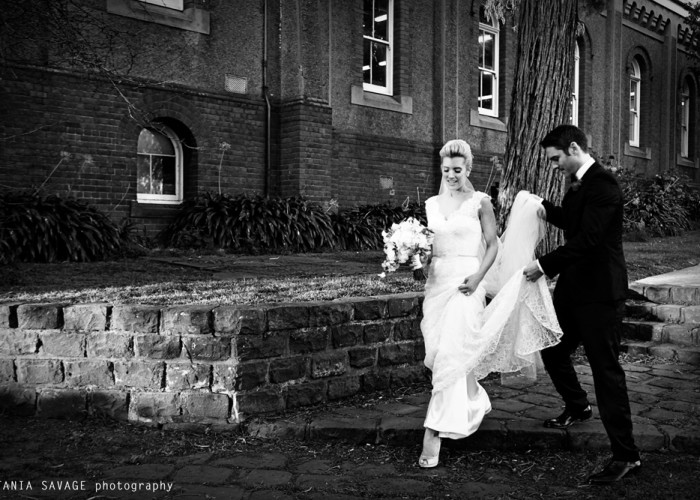 Justine & Matt – Abbotsford Convent